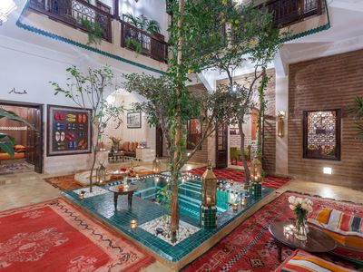 Photo for The spirit of Riad The luxury of a palace, the warmth of a family home