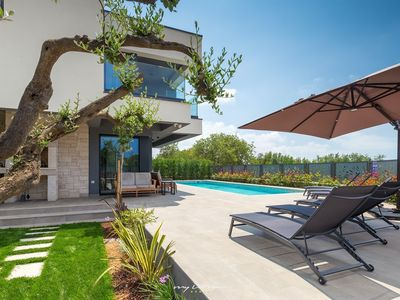Photo for Modern villa with private pool in Porec