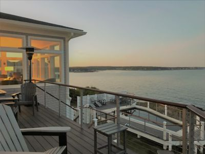Photo for Spectacular 180 degree view oceanfront property with heated pool and ADA bedroom