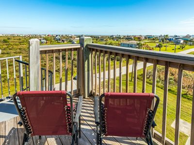 Photo for Enjoy the view at this charming home w/multiple decks & new amenities- 2 dogs OK