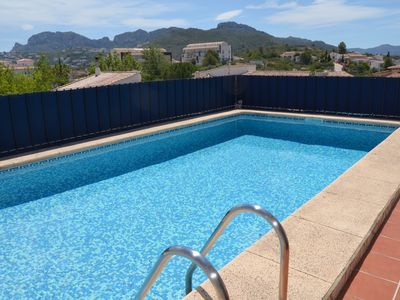 Photo for Villa Raul Wi-Fi, 2 bedrooms, 2 bathrooms, 2 x air conditioning, conservatory, pool .......