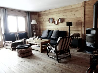 Photo for Chalet Vars claux, mountain ambiance throughout the year