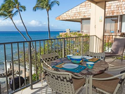 Photo for Amazing Views in This  Ocean Front 2 Bedroom Condo. Come to Maui!