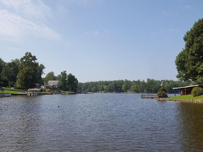 View from your private dock