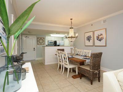 Photo for Waterscape B104 ~ Dual Master BRs ~ Ground floor & Closest 2BR to the beach!