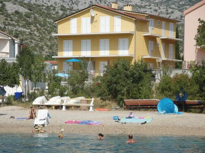 Photo for Apartment by the sea and close to National park Paklenica OF PRIVATE