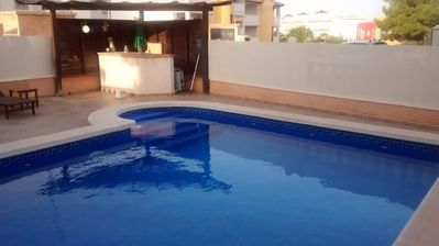 Photo for Luxury villa with private pool can sleep up to 7.  WITH free WIFI