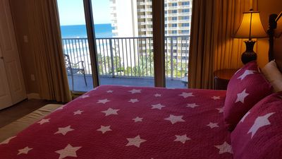 Photo for HUGE Beachfront Balcony and Lagoon Pool Plus Added Values!