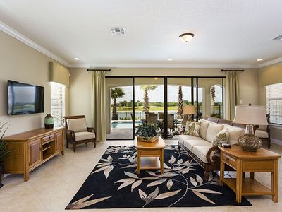 Photo for Budget Getaway - Reunion Resort - Welcome To Contemporary 5 Beds 5 Baths Villa - 6 Miles To Disney