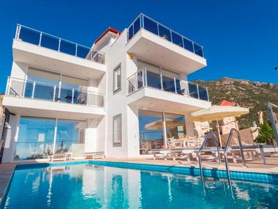 Photo for This is a brand new, recently completed 3 bedroom Kalkan Villa Lagoon. Villa Silican is situated jus