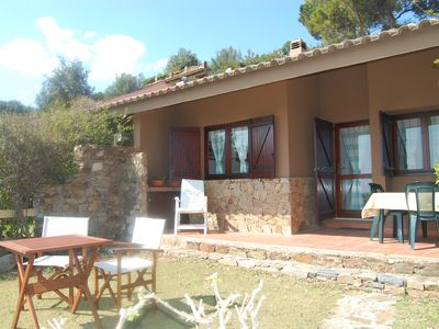 Photo for Baia Chia holiday house - house with garden and view of the beach Giudeu