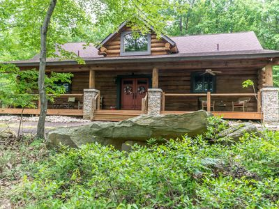Photo for Charming log home with lots of community amenities!