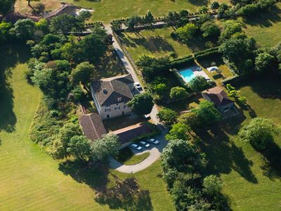 Photo for Beautiful holiday home with private pool, The Meadow House