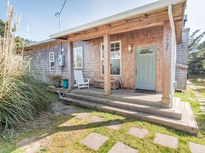 Photo for Dune Grass Cottage #172 - Tasteful, charming upscale cottage just steps from the beach
