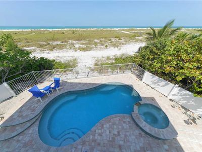 Photo for Luxurious beach front home with pool! Amazing December deals!