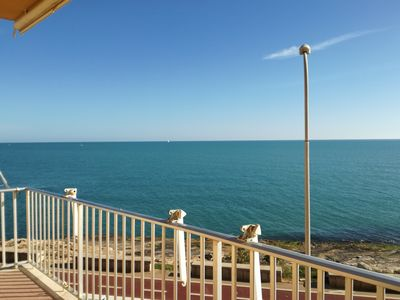 Photo for Sea View Apartment just 10m from the sea