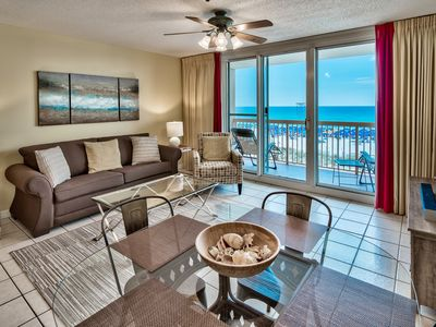 Photo for Beachfront at Pelican, Upscale, Ocean View, Pools, Beach Chairs, Wifi, Netflix