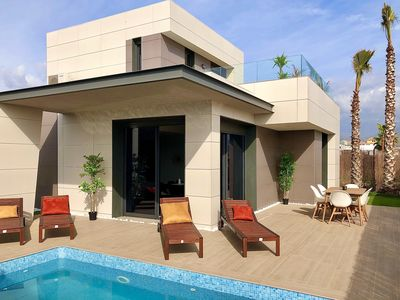 Photo for Luxury newly built villa with private pool