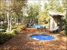 Year round heated pool and hot tub.