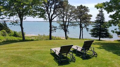 Photo for WATERFRONT home w/ PRIVATE BEACH on Pleasant Bay.  Perfect for families