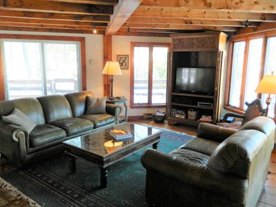 Photo for 5 Bdrm Private Stowe  Home with Hot tub,  Mt. Views & Pet friendly