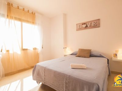 Photo for Nice apartment 6 pax with pool located 100 meters from Levante Beach in Salou.