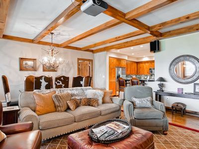 Photo for Incredible Mountain 2 Bedroom Condo with Ski-in/Ski-Out Access | Pool + Hot Tub Access