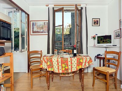 Photo for Step Out Your Door To See The Eiffel Tower! 1 Bedroom Near rue Cler - Sleeps 4