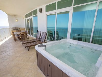 Photo for Gulf Front ~ Sleeps 11 ~ Turquoise Place 2102C ~ Balcony Grill/Hot Tub ~ Great Amenities