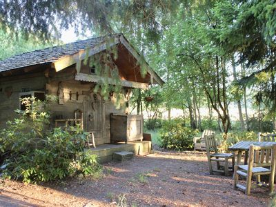 Photo for Lovely 19th century cabin by the forest of Rambouillet, 1 hour from Paris