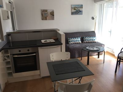 Photo for Charming 2 rooms Arcachon calm center