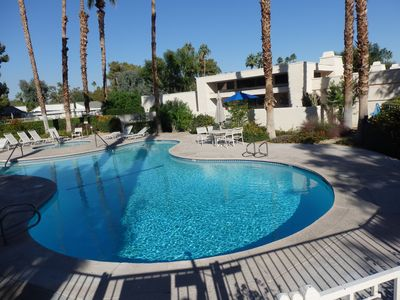 Photo for Desert Lovers' Welcome - Quiet Palm Springs w Shopping / Golf / Tennis