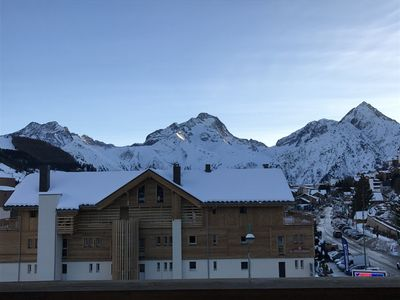 Photo for CENTER STATION apartment - ski in / ski out - MAGNIFICENT VIEW