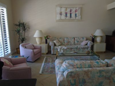 Photo for beautiful waterfront condo in Palm Desert, Ca.