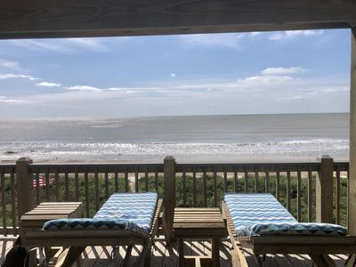 Photo for BEACH FRONT with panoramic views of the Gulf Coast.