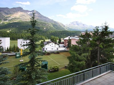 Photo for Apartment 1 km from the center of Saint Moritz with Lift, Parking, Air conditioning, Pool (270439)