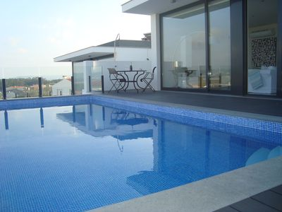 Photo for LUXURY VILLA, SEA VIEW, SWIMMING POOL, MAXIMUM CAPACITY 4/5 GUESTS