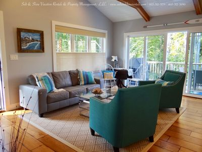 From the decor to the lovely colors of the living room, you won't want to leave.