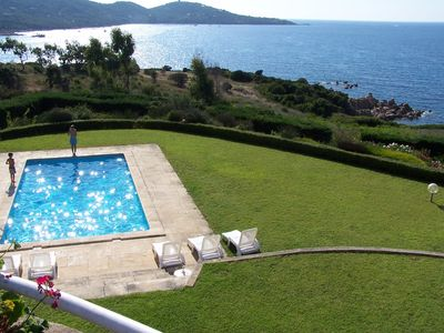 Photo for AQUAROSSA SEASIDE SWIMMING POOL SAND AIR CONDITIONING 6 BEDROOMS PANORAMA