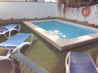 Photo for CONIL new house 1 km walking town with wifi private pool and near beach