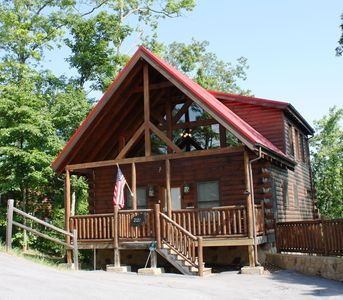 Photo for Mountain Views!! Community Pool!!  2BR 2BA Sleeps 6 Btwn. G. Burg & P. Forge