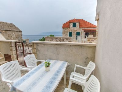 Photo for 2BR Apartment Vacation Rental in Postira - island Brac