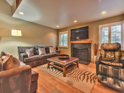 Photo for Canyons Village 2 Bedroom + Loft / 2.5 Bath Townhome Across from the Cabriolet