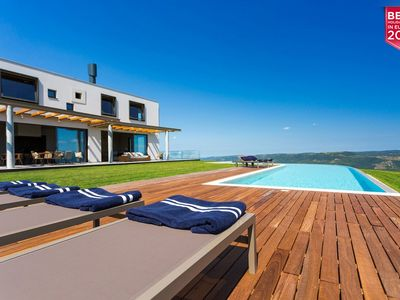 Photo for Modern Villa Vista, in Istria, with a Pool