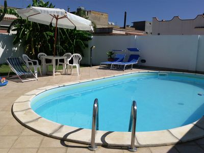 Photo for Enjoy your holiday in Sicily - Selinunte - Villa with pool and sea view.