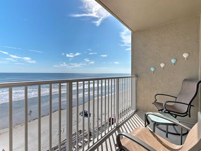 Photo for Becky's Beach Rental - Oceanfront Daytona Condo!