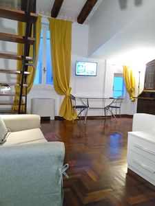Photo for Studio apartment 60 m from the center of Rome with Internet, Air conditioning, Lift, Washing machine (446665)
