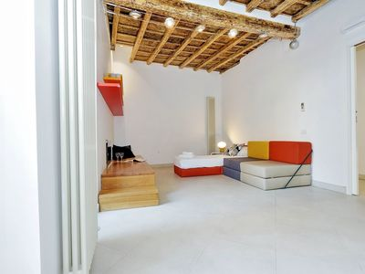 Photo for Rome, historical center, characteristic apartment up to 7 people