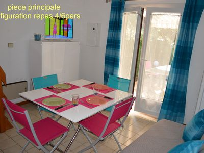 Photo for Maisonette 2/4 persons at 250 m beach, private parking and garden