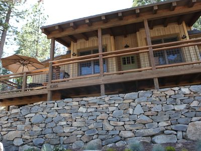 Photo for Newly Built Tahoe Cabin With Lake Views